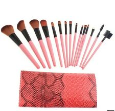 15pcsTrucco Cosmetici Ombretto fard Pennelli Make Up Brush Set studio pro
