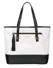 Lipsy White Black Tote Bag With Detachable Purse Brand New Rrp 55