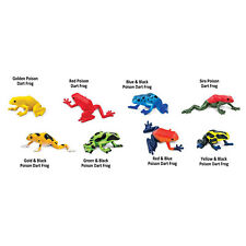 Poison Dart Frogs Toob Mini Figures Safari Ltd NEW Toys Educational Collectibles