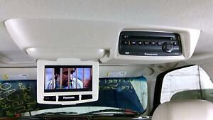03-06 Cadillac Escalade OEM Rear Overhead DVD Entertainment System (Shale)