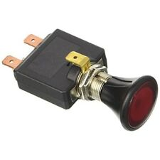 Push-Pull Interruptor - 12/24v con luz LED rojo. agujero à ˜ 14,2 mm 6 mm Max -