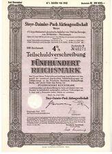 Steyr Daimler Puch AG  1942  500RM   TSV
