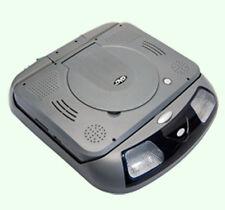 "9"" Car Roof CD DVD USB Player mounted Flip Down Monitor Screen LCD Display Gray"