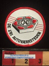 Norway De Fri Autovaerksteder Patch (? Auto Worker ?)CAD Scandinavia Emblem C631