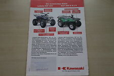 168506) Kawasaki Lakota KEF KLF 300 C 4x4 ATV Prospekt 200?