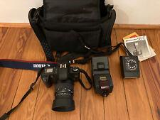 Canon Eos-Rebel G 35mm Slr Film Camera w/ Ef 28-80mm f/3.5-5.6 and Camera bag