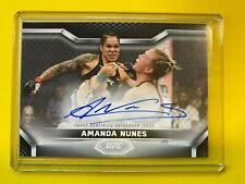 2020 Topps UFC Knockout AMANDA NUNES Autograph #27/99 - CHAMP AUTO