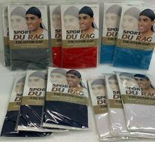 Sport Du Rag Tie Down Cap (12 Pack) Lot Style# 4769 Assorted Colors