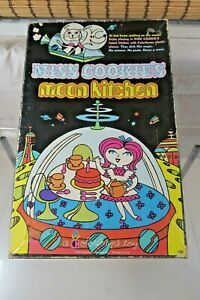 Vintage 1969 Colorforms Miss Cookies Moon Kitchen Playset Hard To Find Complete