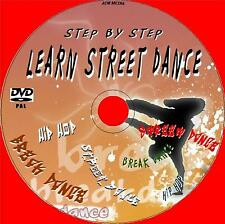 LEARN TO STREET DANCE / BREAKDANCE TUITION EASY TO FOLLOW FOR BEGINNERS DVD NEW