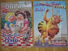 1986 Topps Garbage Pail kids Complete Poster Set (18) WOW RARE