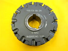 USED CARBIDE INSERT FACE MILL side milling cutter MCQUADE 9515-T30-SA1-D14