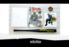 Mezco One:12 GOMEZ HAZARD SQUAD ? BASEBALL BAT, COMIC BOOK, STICKER & TOKEN LOT