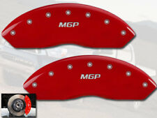 2003-2006 Toyota Tundra Front Red Engraved MGP Brake Disc Caliper Covers 2pc