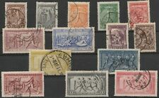 GREECE..1906 B` ATHENS OLYMPIC GAMES..COMPL.SET OF 14 USED