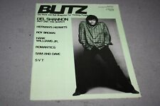 BLITZ THE R´n´ROLL MAG FOR THINKING PEOPLE# 41  -  DEL SHANNON COVER (1981)