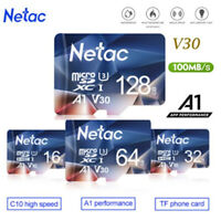 Netac Micro SD Card 32GB-256GB Memory Card Class10 SDXC TF for Phone/Camera lot