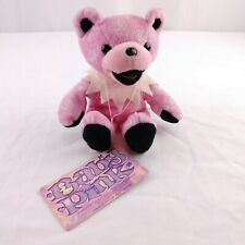 Liquid Blue Grateful Dead Beanie Bears Baby Pink 2001 Collectible 7th Edition