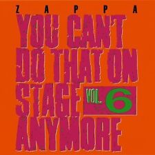 Frank Zappa - You Can't Do That on Stage Anymore 6 [New CD] UK - Import