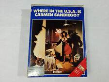Where in the U.S.A is Carmen Sandiego? *Tested* w/ book box maps manuals