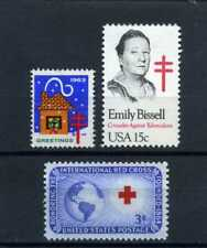 CHRISTMAS SEAL  1963,-''EMILY BISSEL {Introducer Seals}  RED CROSS /52  U.S.