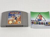 Star Wars Rogue Squadron - Nintendo 64 N64 Game - Cart Only - UK PAL