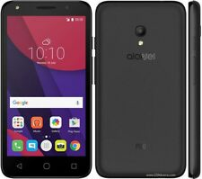 "Alcatel Pixi 4 4"" LCD Quad Core Dual Camera Android Smartphone-Black"