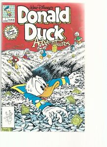 AUTOGRAPHED Disney Donald Duck Adv. #1  Signed by Writer and Artist Don Rosa