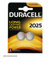 2 x Duracell Coin Battery For JVC TH-W513B 2.0 remote control