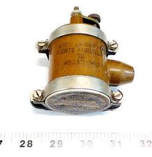 Vintage NOS Bendix Booster Coil EA93660-1 12V P/N 93654-512-4 USAF Aviation