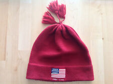 6e8c2076e7f Polo Ralph Lauren - Bonnet - Beanie - Wool Laine - Men - Red POLO USA