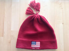 Polo Ralph Lauren - Bonnet - Beanie - Wool Laine - Men - Red POLO USA d436f6bbf35