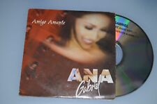 Ana Gabriel - Amigo amante. CD-Single Promo (ESP)