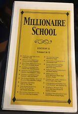 Millionaire School Edition 2 Vol 1 & 2 New, Sealed Cds Peak Potentials Training