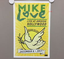 MIKE LOVE (THE BEACH BOYS) live concert AMOEBA store POSTER (11x17) eclusive