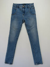 BILLABONG Ladies Denim Jeans Slim Slouch Blue Size 24 OR AUST 6 AS NEW