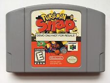 Nintendo 64 N64 Pokemon Snap Not For Resale Black Box Demo Cartridge *Rare*