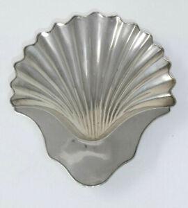 Georgian Period Old Sheffield Plate Shell Design Butter Dish