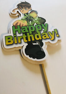 Ben 10 Cake Topper Birthday Party Cake Decorations