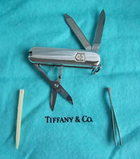 TIFFANY & CO. STERLING SILVER & GOLD SWISS ARMY KNIFE/KEY CHAIN!!!