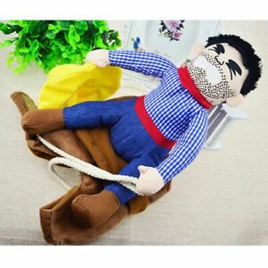 Puppy Halloween Party Costume Clothes Funny Riding Horse Cowboy Pet Dog Costumes