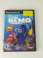 Finding Nemo PlayStation 2 PS2 Kids Game Disney Pixar