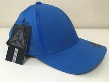 ADIDAS MEN'S ORIGINAL TAYLOR MADE BLUE CAP HAT FLEX FIT DELTA L/XL LOGO