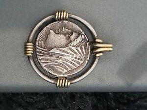 Monnaie authentique Grecque Sicile Philistis 16 Litrae argent