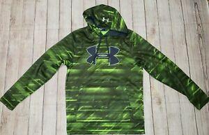 Under Armour Storm1 Mens Camouflage Fleece Lining Hoodie Sweatshirt SMALL