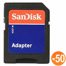 50X SanDisk microSD micro SD to SD SDHC SDXC Adapter fit 4GB 8GB 16GB 32GB 64GB