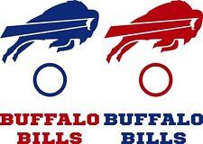 Buffalo Bills DECALS - 6 CORNHOLE Board Decals Vinyl Sticker Window Decals