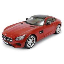 Camión de automodelismo y aeromodelismo color principal rojo Mercedes