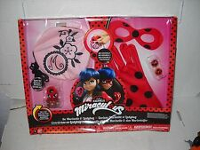 Zag Miraculous Marinette & Ladybug Role Play Pack Set Costume Accessories MIB