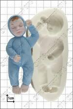 Silicone mould Sleeping Baby | Food Use FPC Sugarcraft FREE UK shipping!